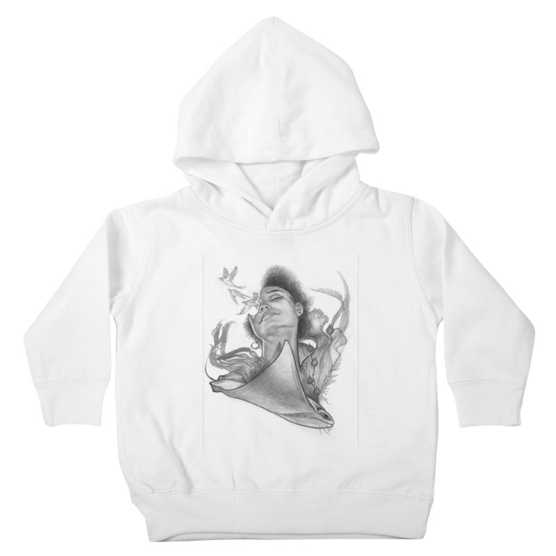 Kelp Dream Kids Toddler Pullover Hoody by Draw Juice Custom Art Prints