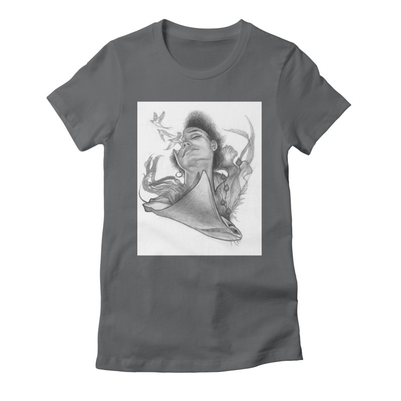 Kelp Dream Women's T-Shirt by Draw Juice Custom Art Prints