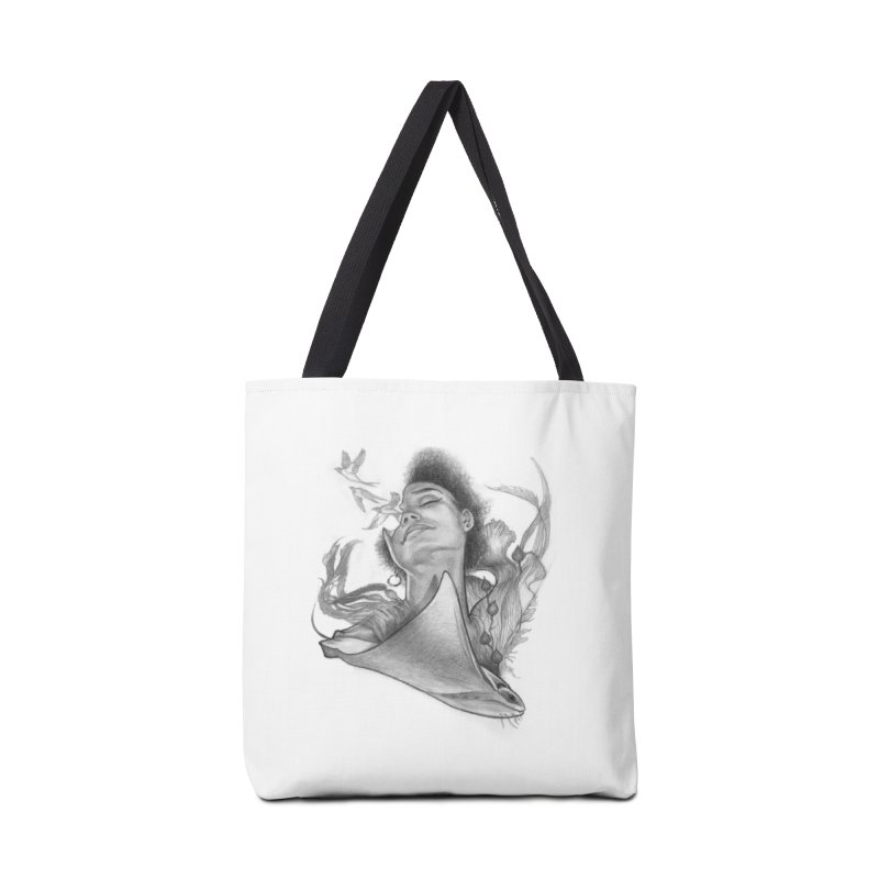 Kelp Dream Accessories Tote Bag Bag by Draw Juice Custom Art Prints