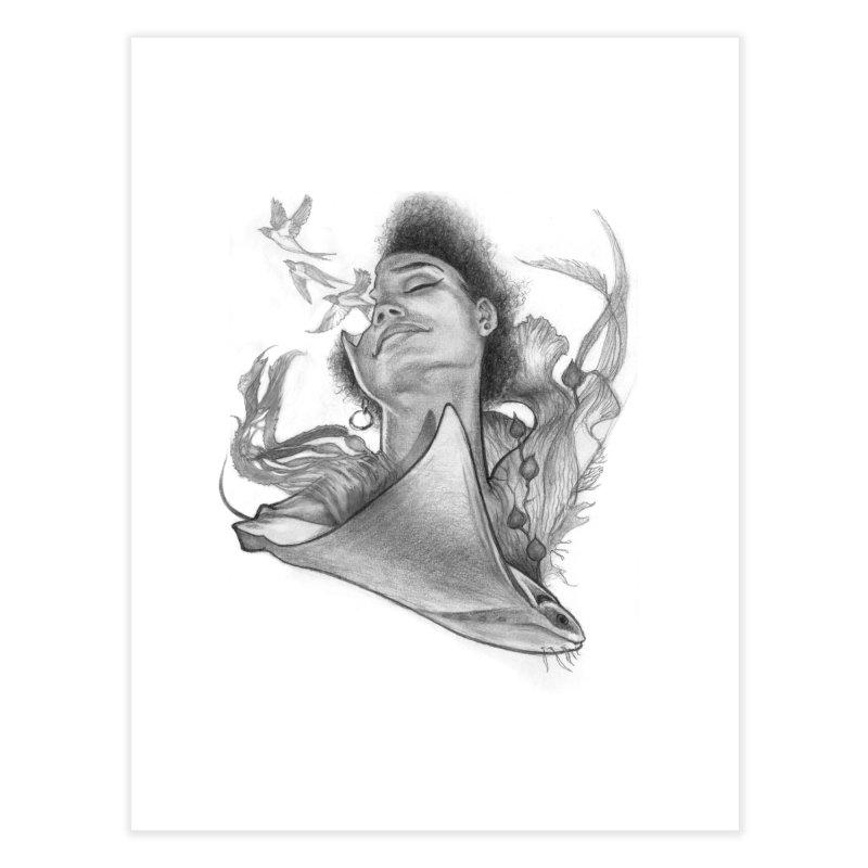 Kelp Dream Home Fine Art Print by Draw Juice Custom Art Prints