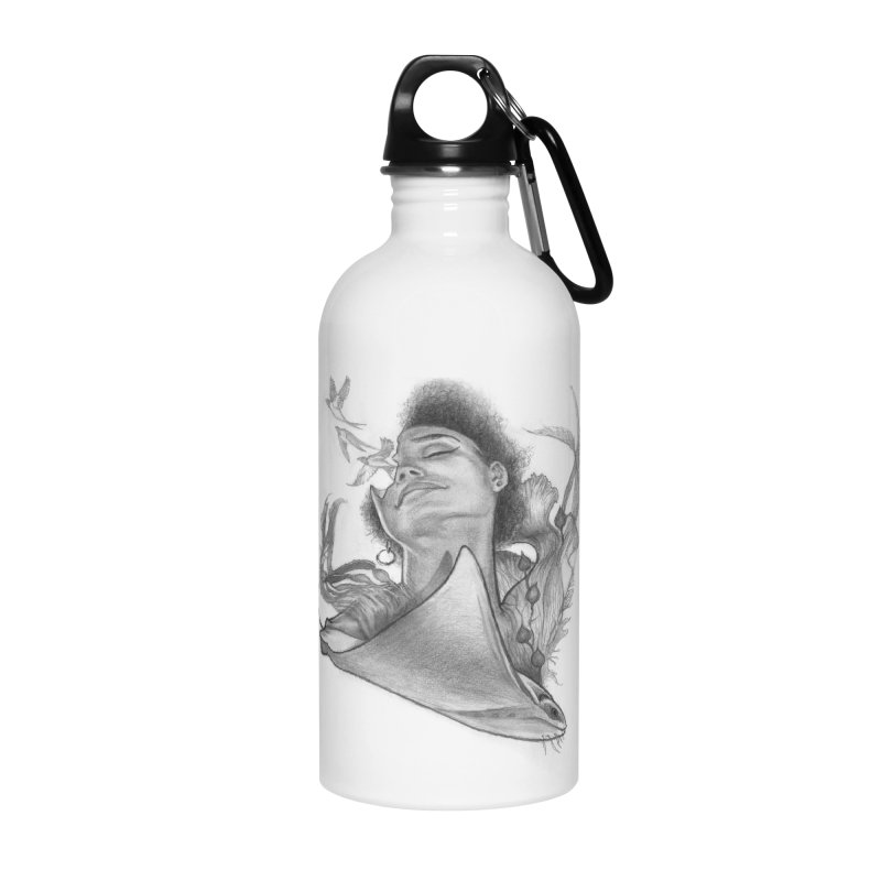Kelp Dream Accessories Water Bottle by Draw Juice Custom Art Prints