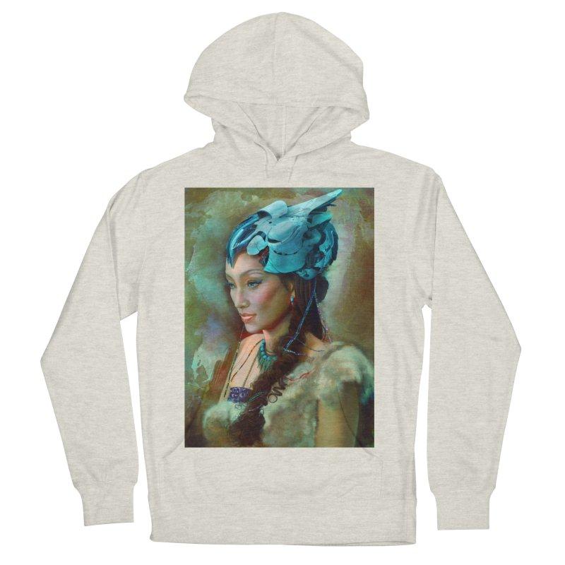 Ha Te Women's French Terry Pullover Hoody by Draw Juice Custom Art Prints