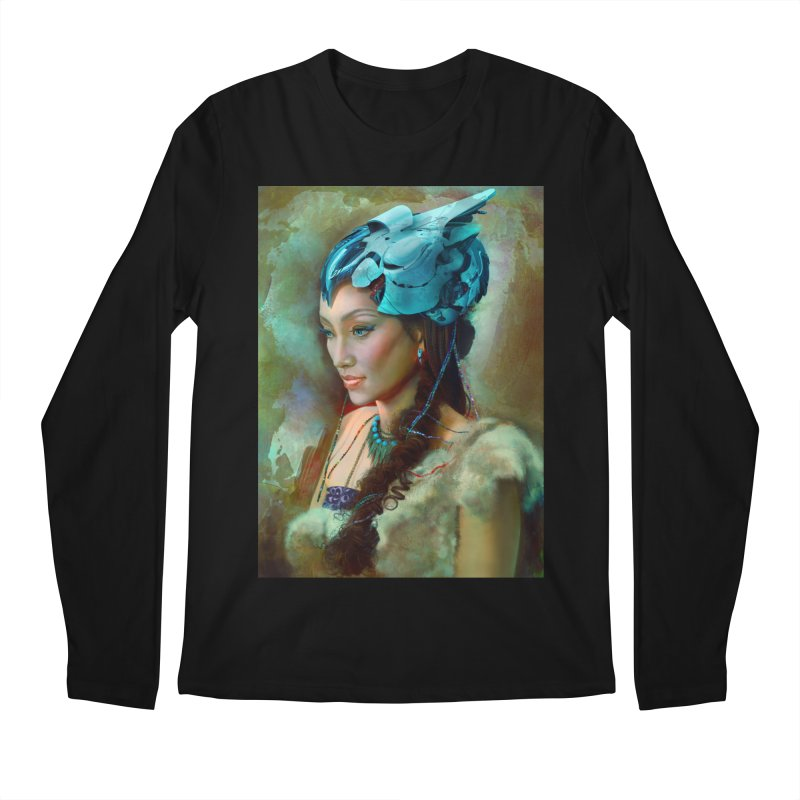 Ha Te Men's Longsleeve T-Shirt by Draw Juice Custom Art Prints