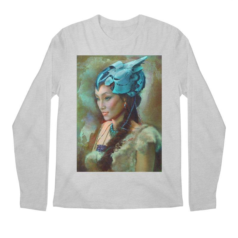Ha Te Men's Longsleeve T-Shirt by Draw Juice Custom Art Prints