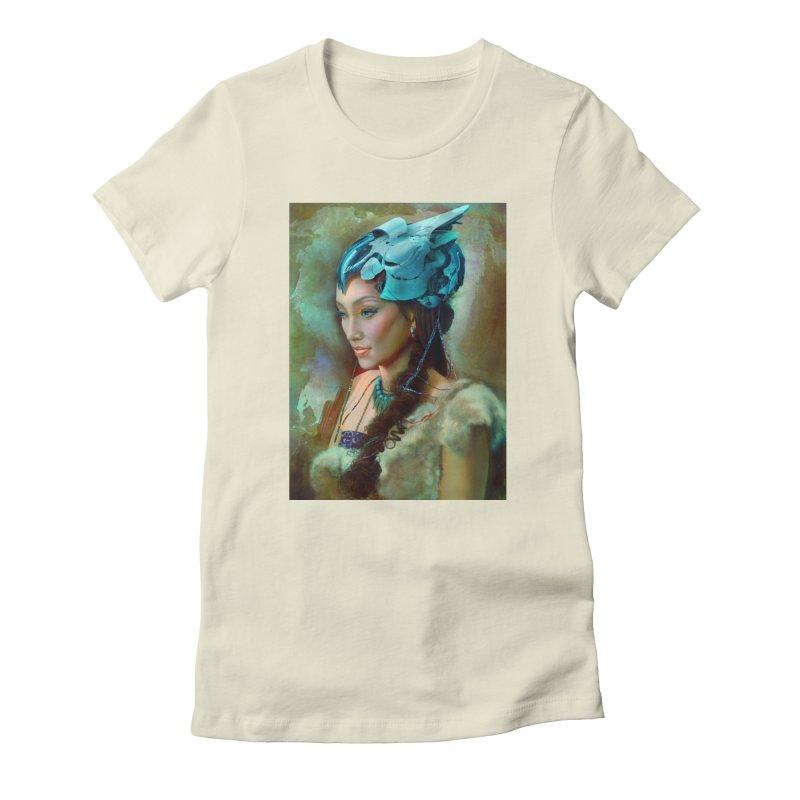 Ha Te Women's T-Shirt by Draw Juice Custom Art Prints