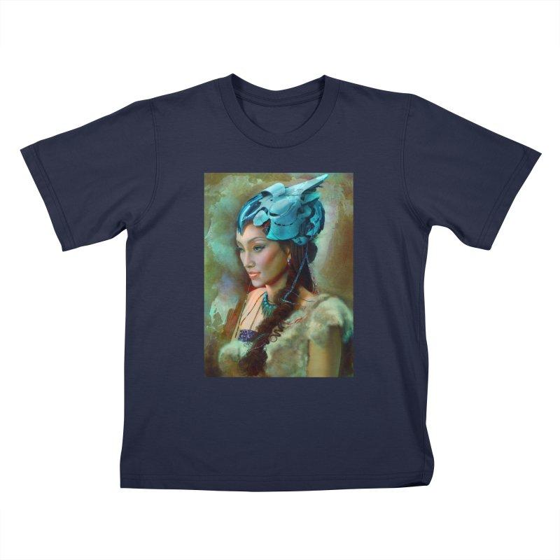 Ha Te Kids T-Shirt by Draw Juice Custom Art Prints