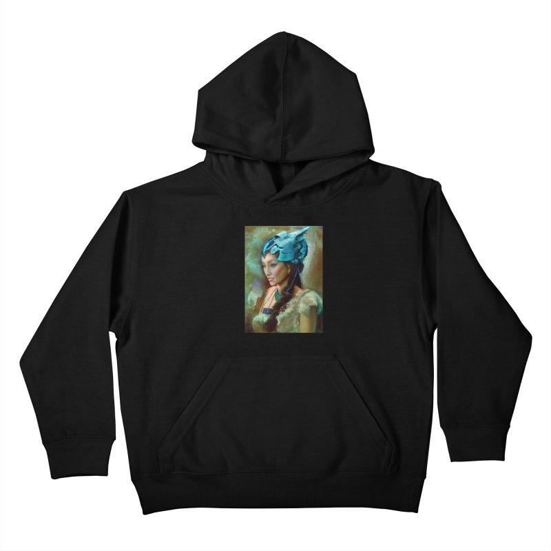 Ha Te Kids Pullover Hoody by Draw Juice Custom Art Prints