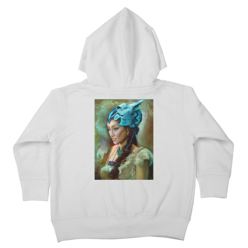 Ha Te Kids Toddler Zip-Up Hoody by Draw Juice Custom Art Prints