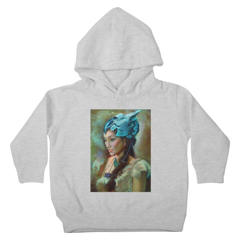 Ha Te Kids Toddler Pullover Hoody by Draw Juice Custom Art Prints