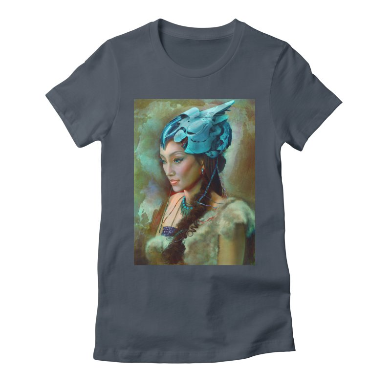 Ha Te Women's T-Shirt by Draw Juice Custom Art Prints