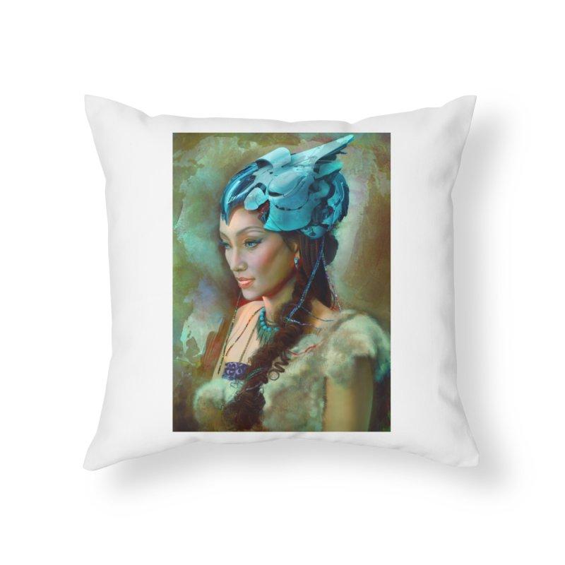 Ha Te Home Throw Pillow by Draw Juice Custom Art Prints