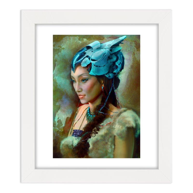 Ha Te Home Framed Fine Art Print by Draw Juice Custom Art Prints