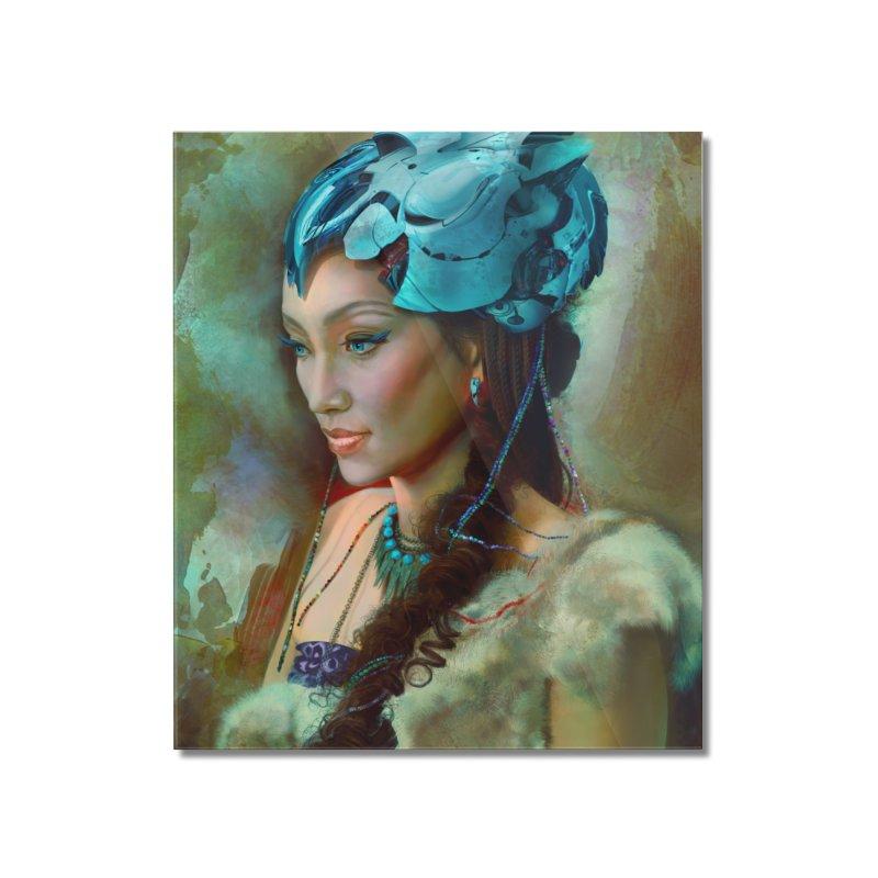 Ha Te Home Mounted Acrylic Print by Draw Juice Custom Art Prints