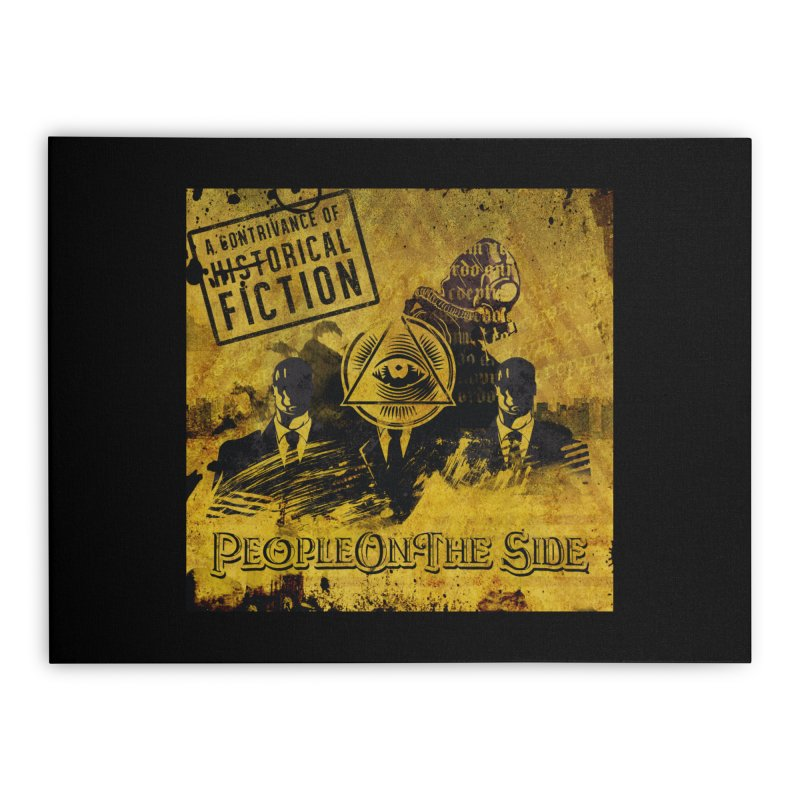 People On The Side - A Contrivance of Historical Fiction Home Stretched Canvas by Ocd Recording Merch