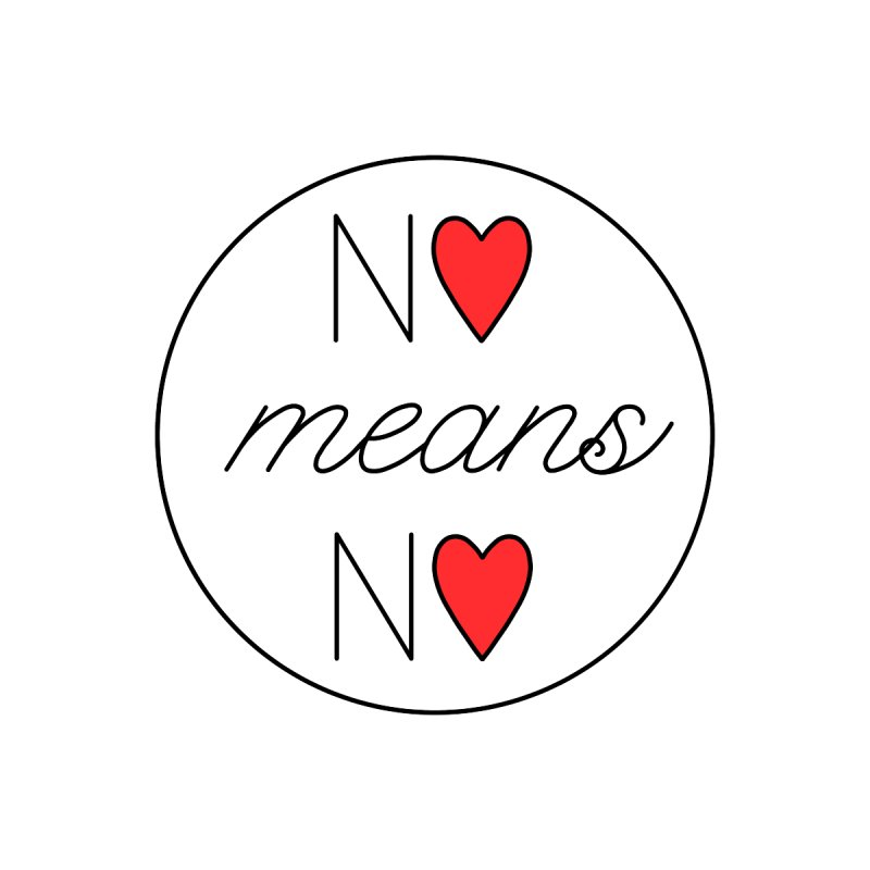 No means No red   by Ohashleylove's Shop