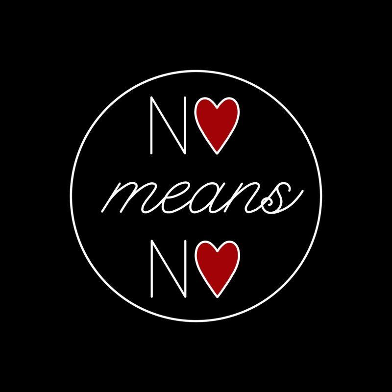 No means No white by Ohashleylove's Shop