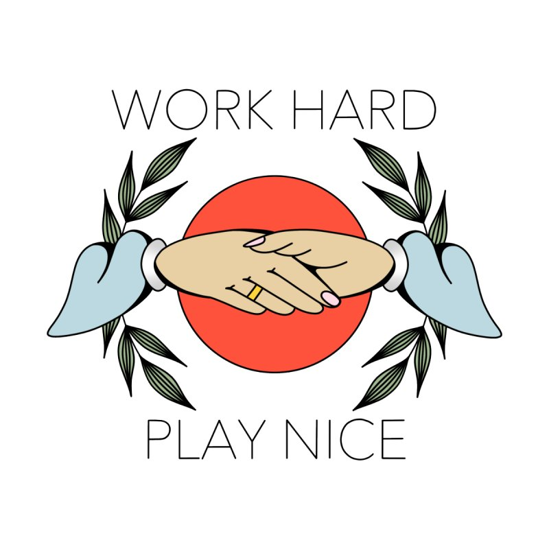 Work Hard None  by Ohashleylove's Shop