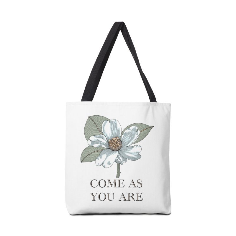 Come As You Are Accessories Tote Bag Bag by Ohashleylove's Shop