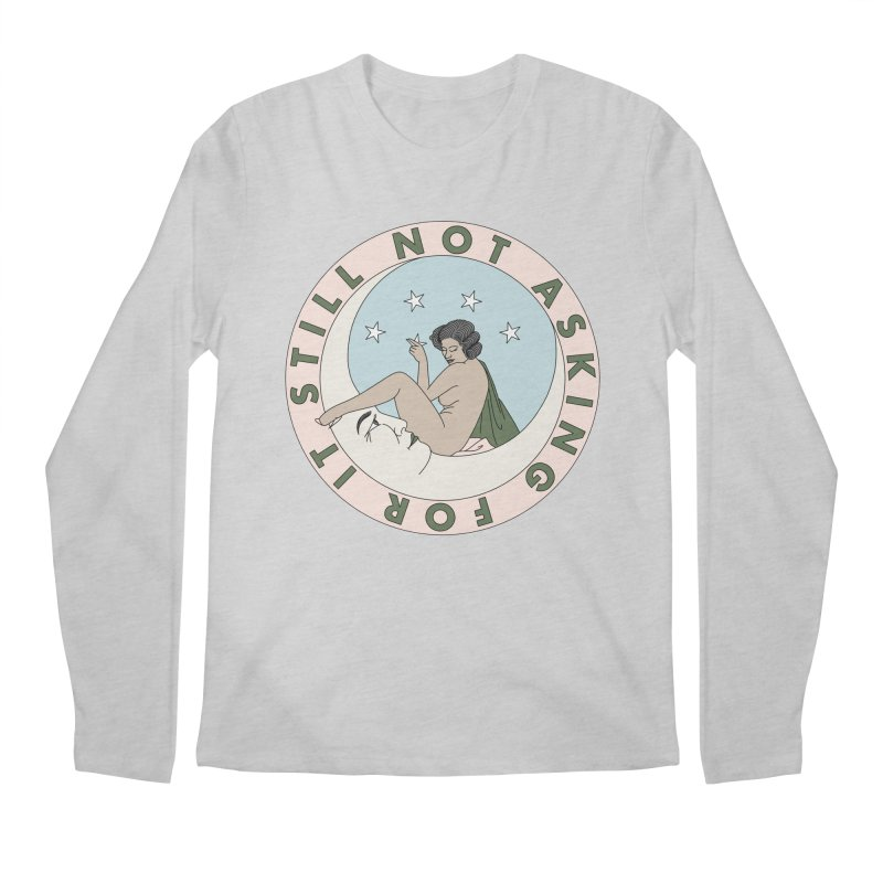Moon babe Men's Regular Longsleeve T-Shirt by Ohashleylove's Shop