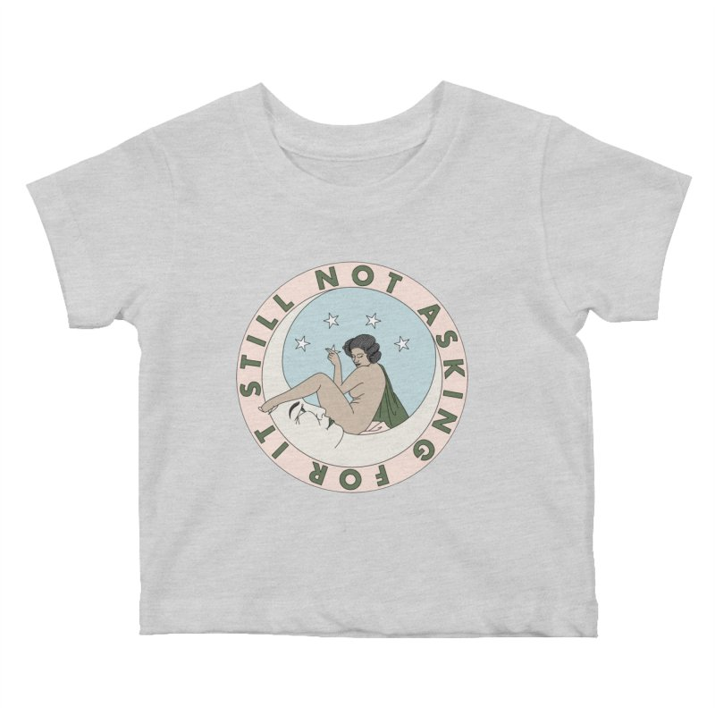 Moon babe Kids Baby T-Shirt by Ohashleylove's Shop