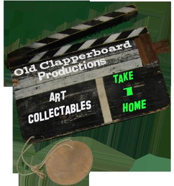OldClapperboard's Shop Logo