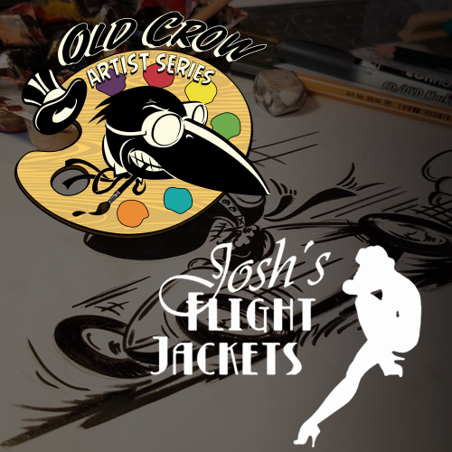 Old-Crow-Artist-Series-Joshs-Flight-Jackets