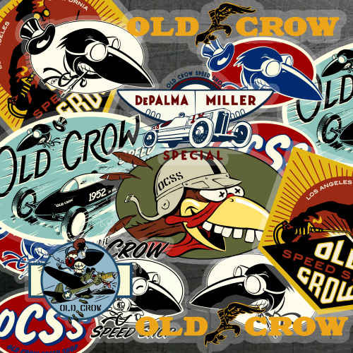 Old-Crow-Sticker-Shop