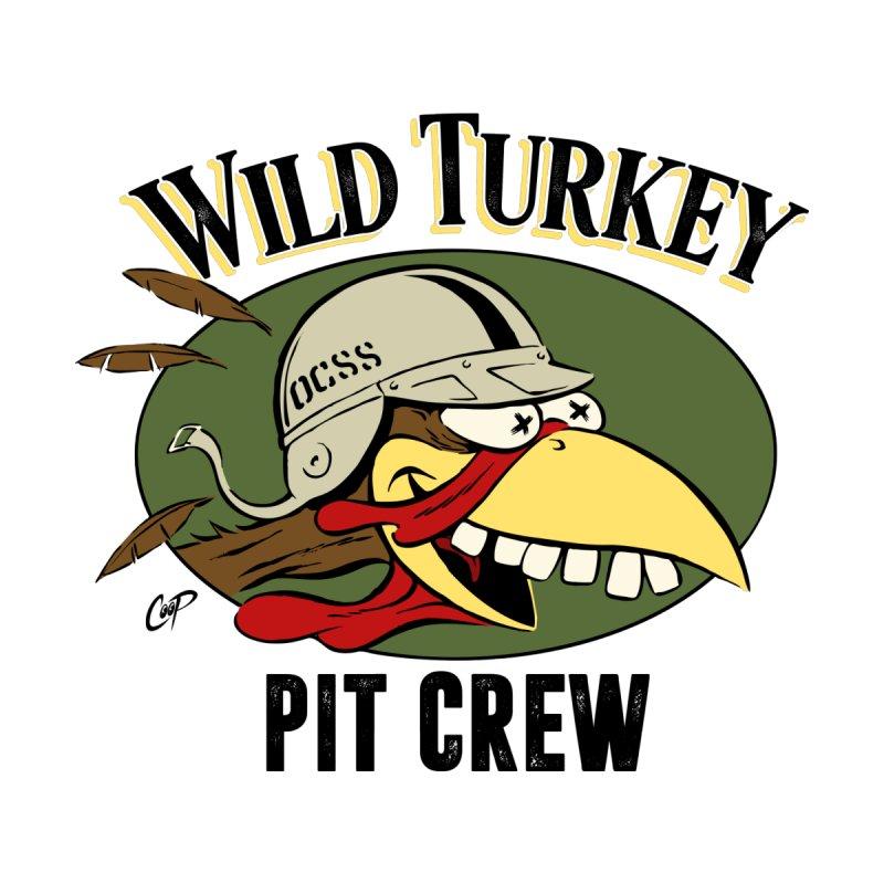 WILD TURKEY PIT CREW Men's Longsleeve T-Shirt by Old Crow Speed Shop