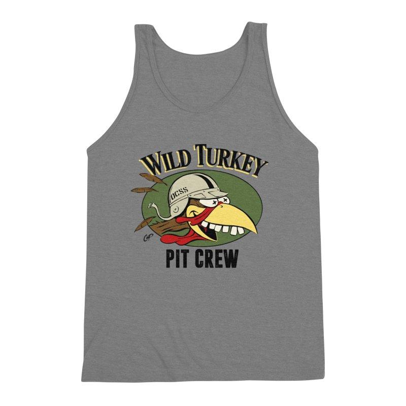WILD TURKEY PIT CREW Men's Tank by Old Crow Speed Shop