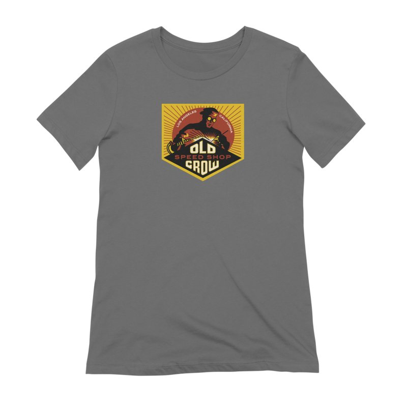 OLD CROW FABRICATION Women's T-Shirt by Old Crow Speed Shop