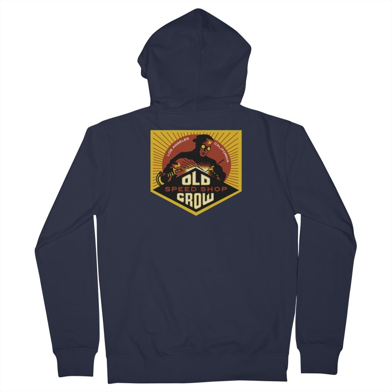 OLD CROW FABRICATION Women's Zip-Up Hoody by Old Crow Speed Shop
