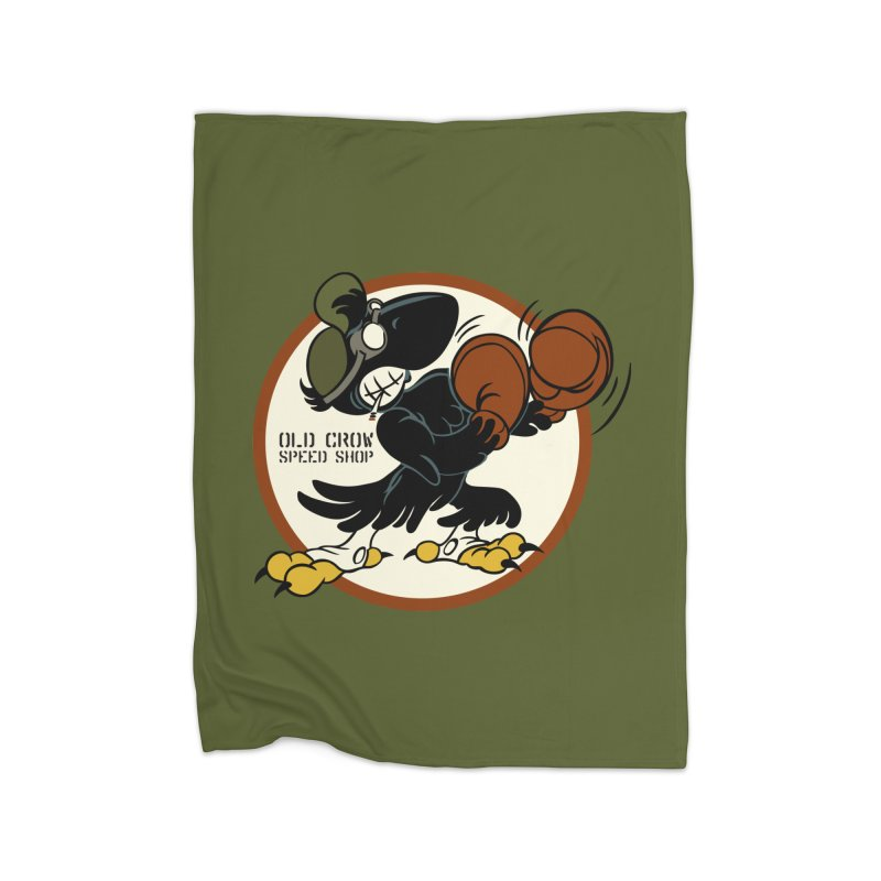 OLD CROW FIGHTING 33rd Home Blanket by Old Crow Speed Shop