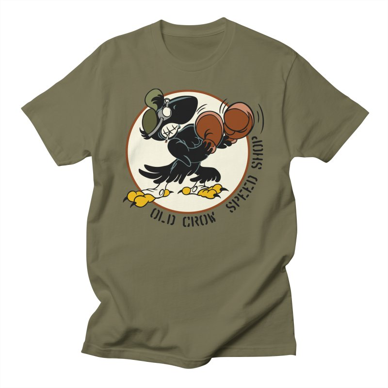OLD CROW FIGHTING 33rd Men's T-Shirt by Old Crow Speed Shop