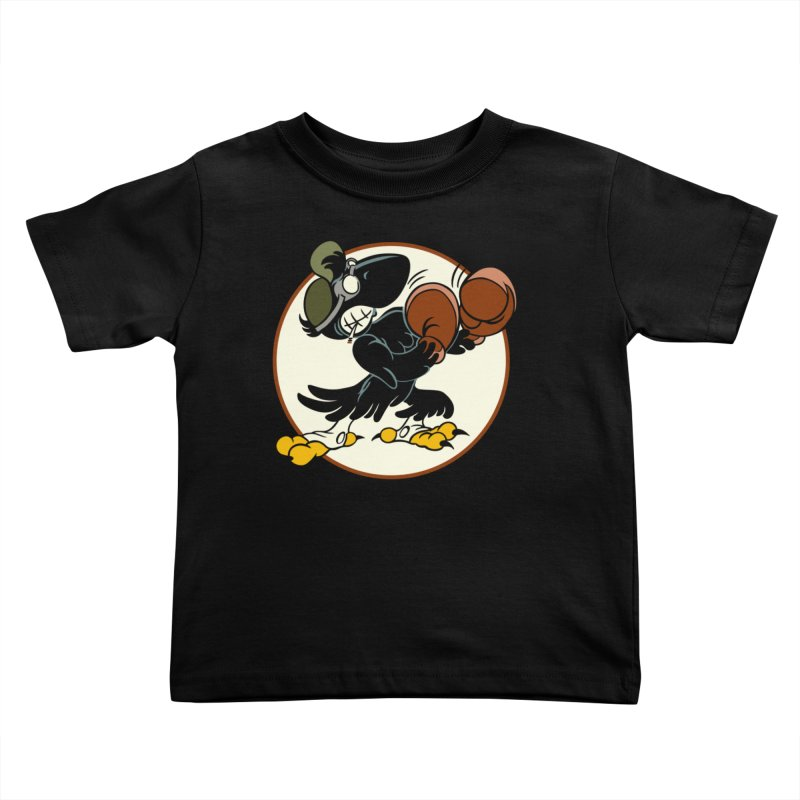 OLD CROW FIGHTING 33rd Kids Toddler T-Shirt by Old Crow Speed Shop