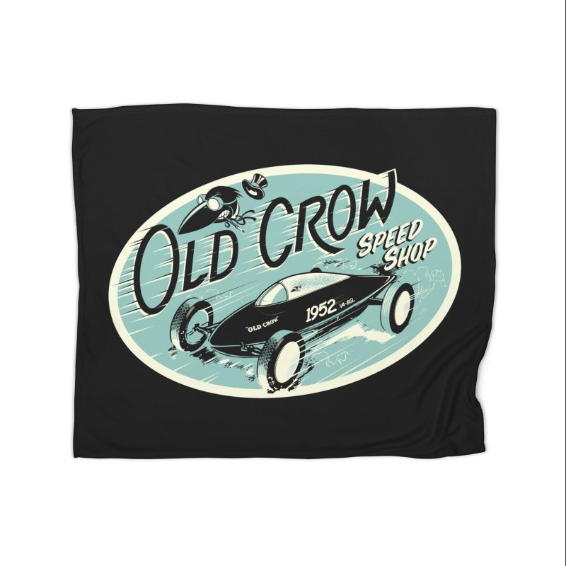 EL MIRAGE Home Blanket by Old Crow Speed Shop
