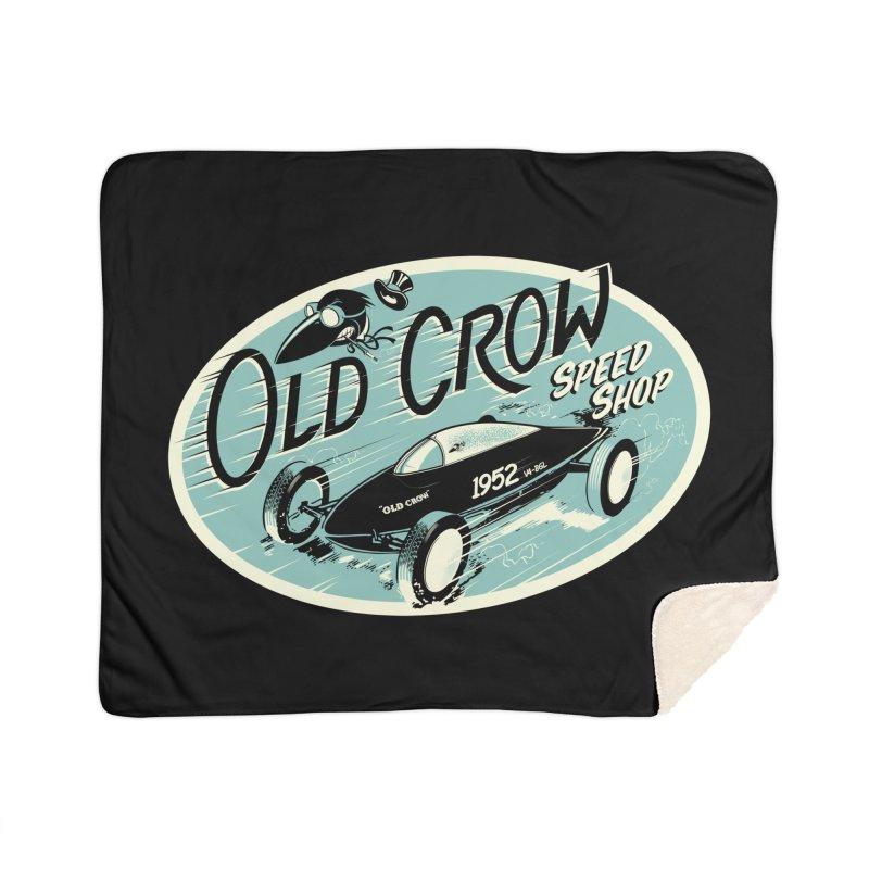 EL MIRAGE Home Blanket by Old Crow Speed Shop