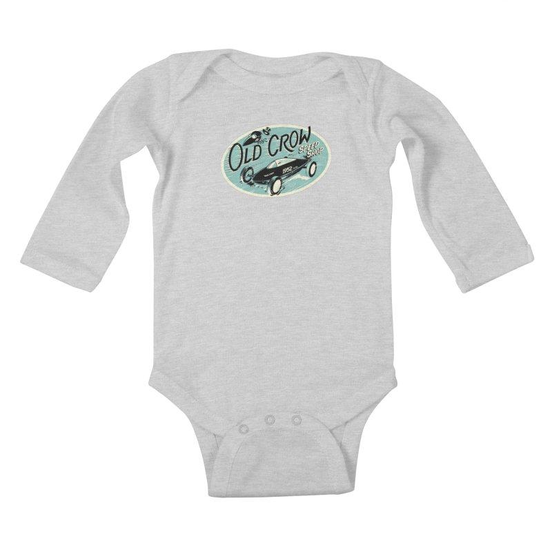 EL MIRAGE Kids Baby Longsleeve Bodysuit by Old Crow Speed Shop