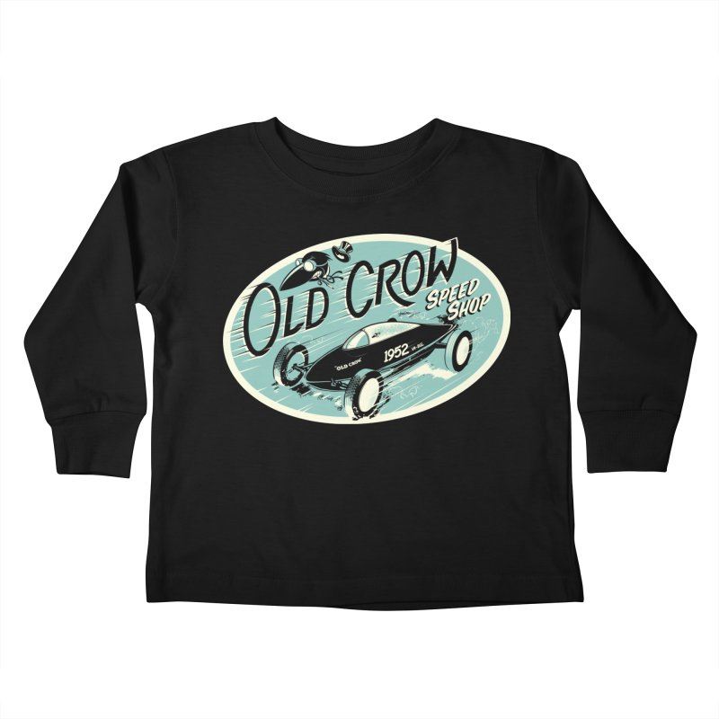 EL MIRAGE Kids Toddler Longsleeve T-Shirt by Old Crow Speed Shop