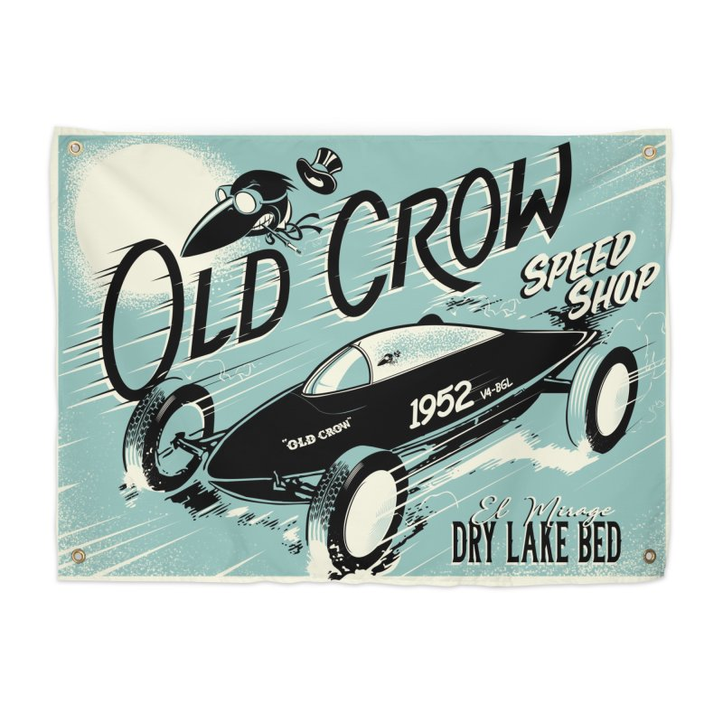 EL MIRAGE Home Tapestry by Old Crow Speed Shop