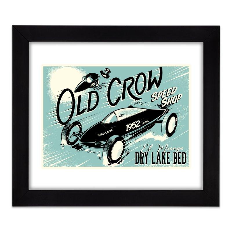 EL MIRAGE Home Framed Fine Art Print by Old Crow Speed Shop
