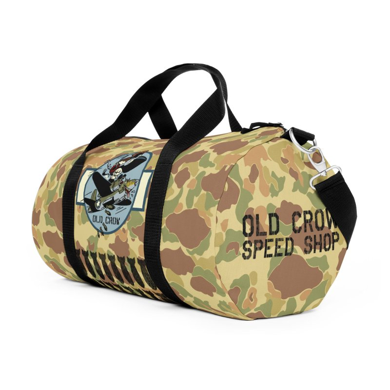 OLD CROW BOMB SQUADRON Accessories Bag by Old Crow Speed Shop