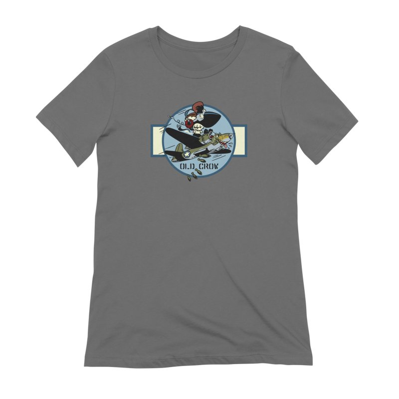 OLD CROW BOMB SQUADRON Women's T-Shirt by Old Crow Speed Shop