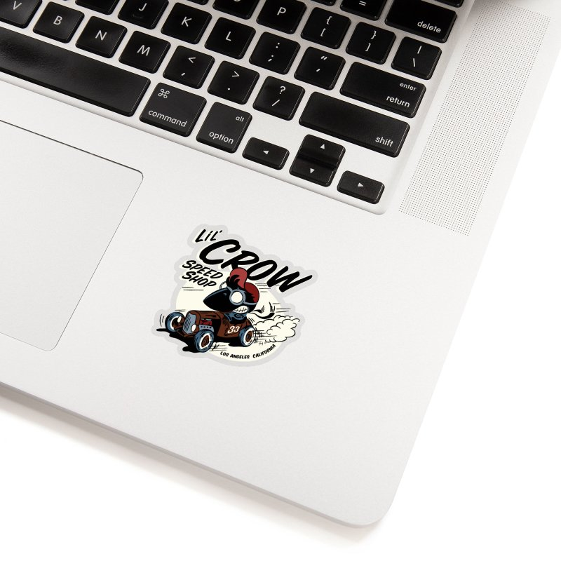 LIL' CROW SPEED SHOP - ROADSTER Accessories Sticker by Old Crow Speed Shop