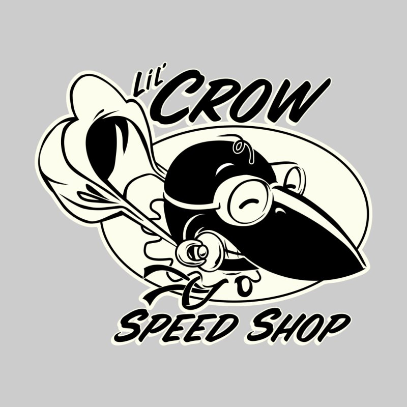 LIL' CROW SPEEDSHOP Kids Baby Zip-Up Hoody by Old Crow Speed Shop