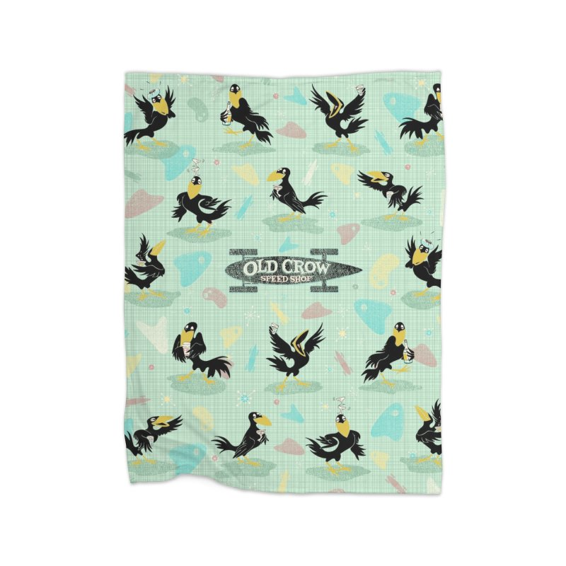 COCKTAIL HOUR Home Blanket by Old Crow Speed Shop