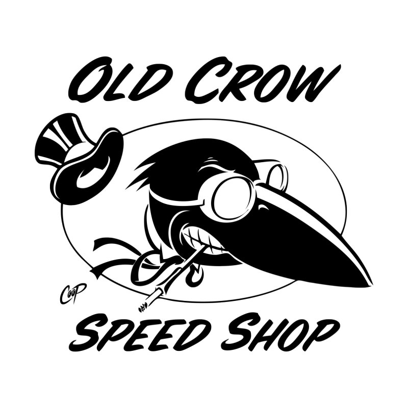 OLD CROW SHOP LOGO - Women's T-Shirt by Old Crow Speed Shop
