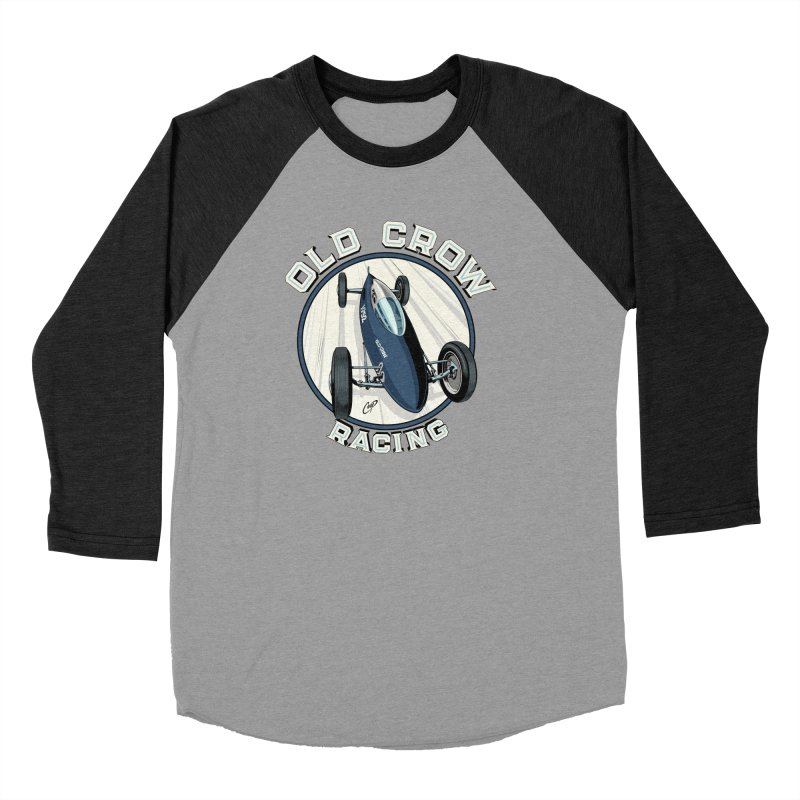 OLD CROW RACING Men's Longsleeve T-Shirt by Old Crow Speed Shop