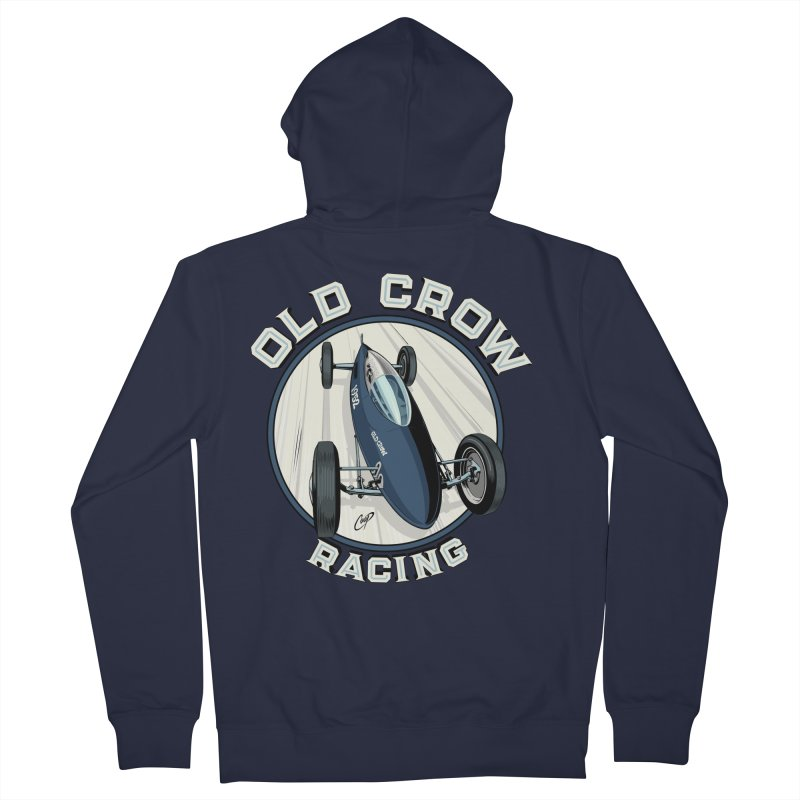 OLD CROW RACING Women's Zip-Up Hoody by Old Crow Speed Shop