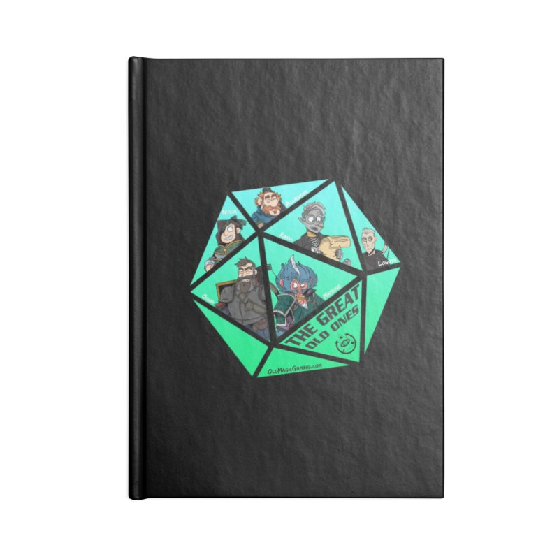 """""""The Great Old Ones"""" Accessories Lined Journal Notebook by TonyChromatic's Merch Shop"""