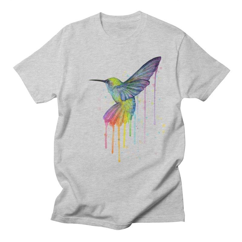 Rainbow Hummingbird   by Art by Olga Shvartsur